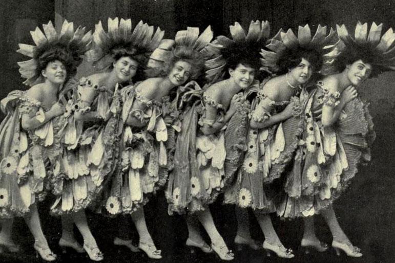 Ladies first! Tanz, Musik, Styling und Fotos wie in den 20er Jahren